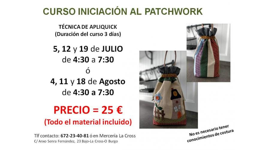 Cursos de Patcwork Verano 2021